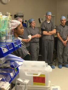 Surgery Tour - Merici Med Prep